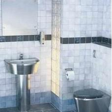 8550080 стальная раковина и унитаз (нержавейка) для общественных туалетов Ifo