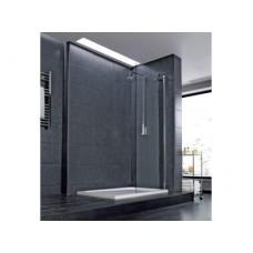 INDIGO - Душевое ограждение - одинарная панель 85 x 195 см