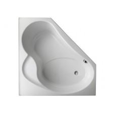 ANGLE BAIN-DOUCHE - Система гидромассажа Serenity - акриловая угловая ванна левая 135 x 135 см